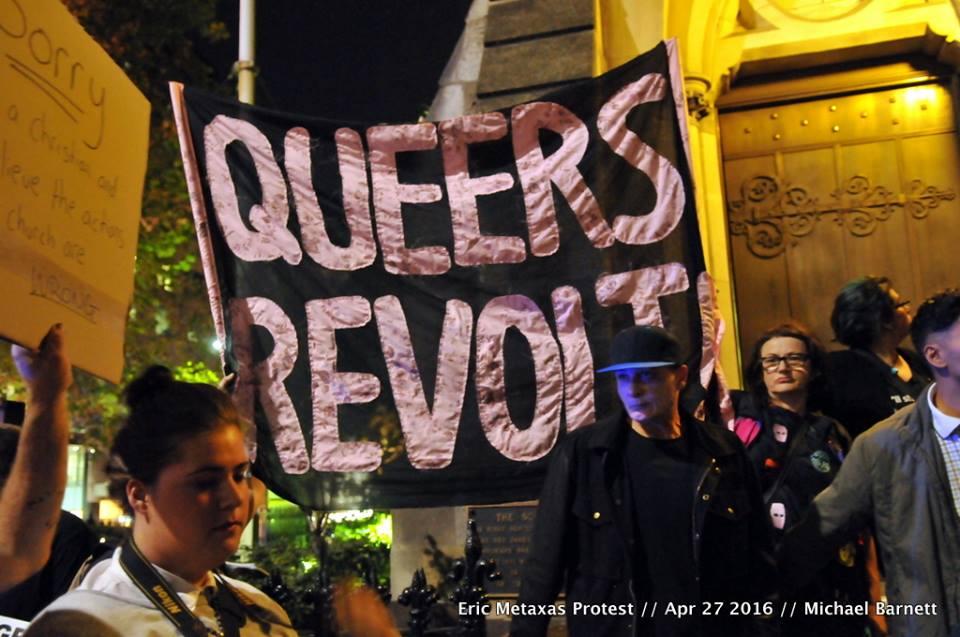 Naarm / Melbourne: LGBTQI community blockade of Australian Christian Lobbyevent